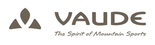vaude logo with claim